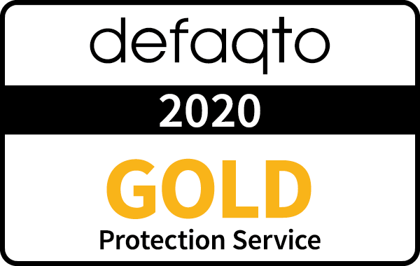 Defaqto Gold Rating