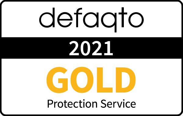 Defaqto Gold Rating