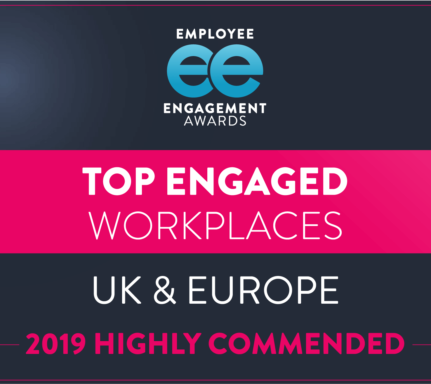 Employee Engagement Awards 2019 - Top Engaged