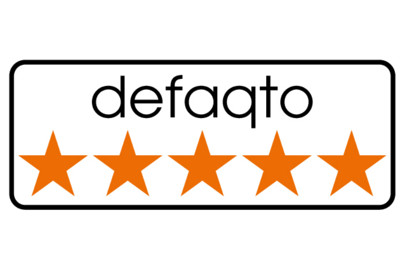 Our Income Protection plan has received a 5 Star Rating from Defaqto