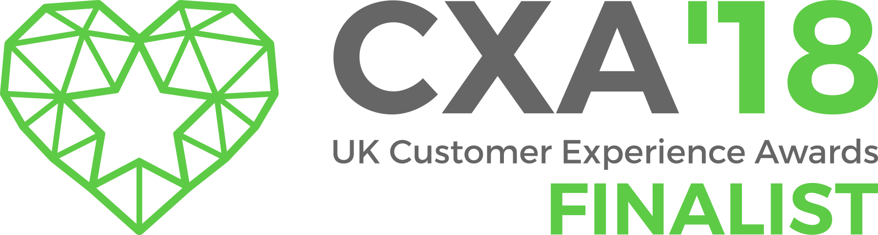 We are a finalist in the Customer Experience Awards 2018!