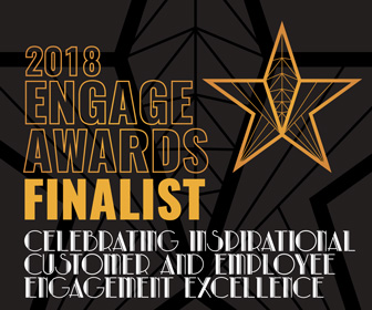 We are a finalist in the 2018 Engage Awards!