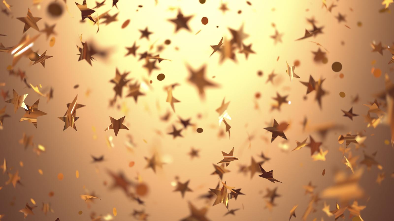 ILP Moneyfacts Awards 2021 Gold Star Confetti