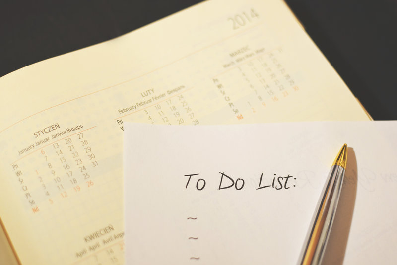 to do list for those who are 50 years old