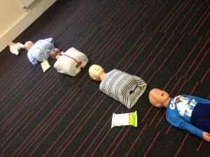 manchester first aid training learning CPR