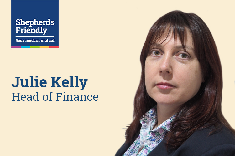Shepherds Friendly appoints Julie Kelly as new Head of Finance
