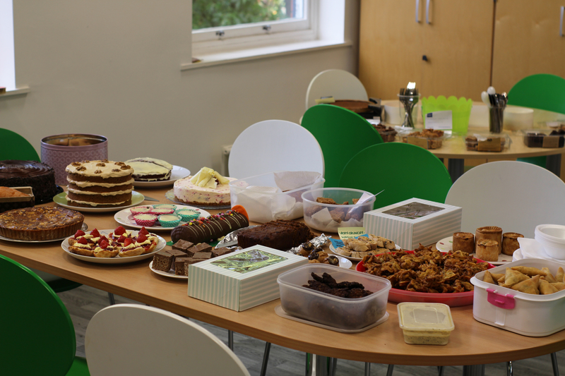 Shepherds Friendly staff take part in Macmillan coffee morning