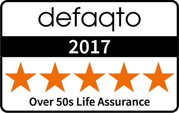 Over 50s 5 Star Defaqto Rating