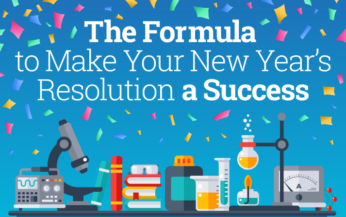 The formula to make your New Year's Resolutions a success