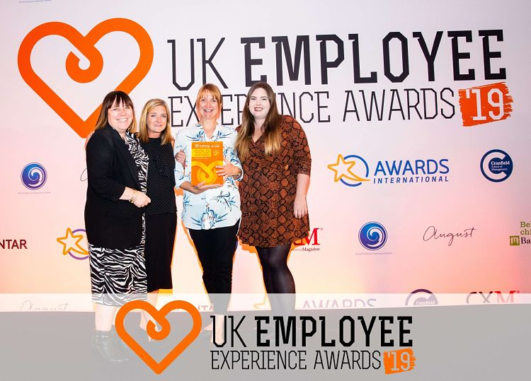 UK Employee Experience Awards 2019 winners