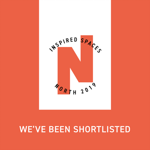 Inspired Spaces North 2019 - shortlist logo