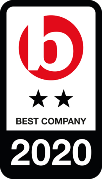 Best Companies 2-star Accreditation