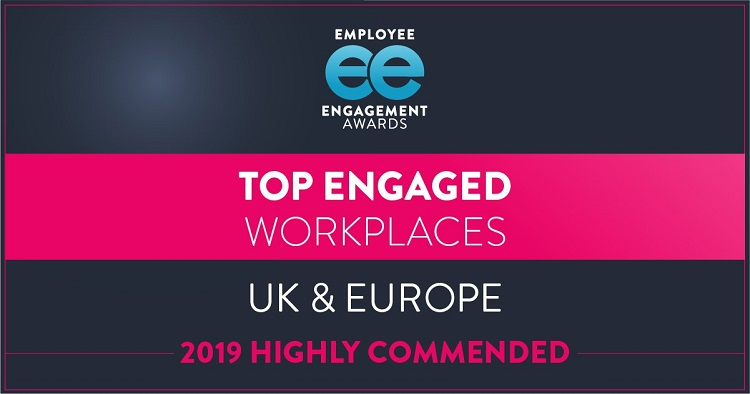 Employee Engagement Awards Highly Commended
