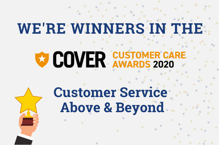 Cover customer care winners