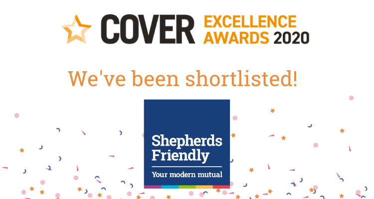 Cover excellence awards shepherds friendly