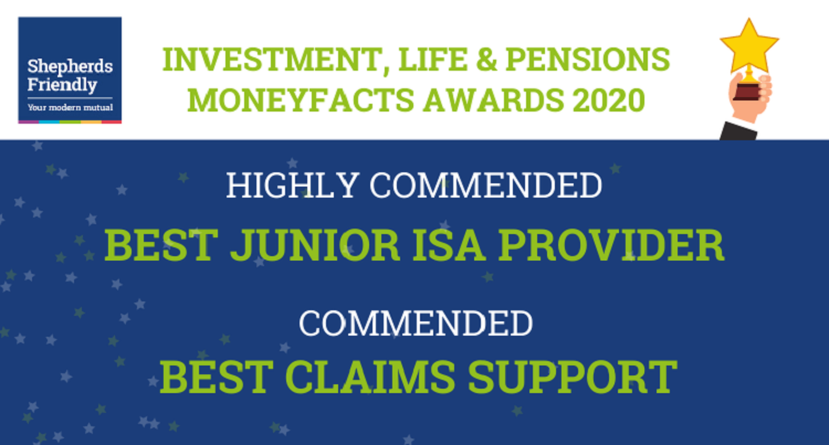 ILP Moneyfacts Awards 2020 Shepherds Friendly