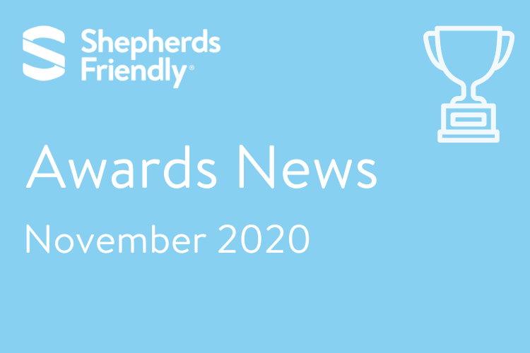 Awards News Shepherds Friendly November 2020