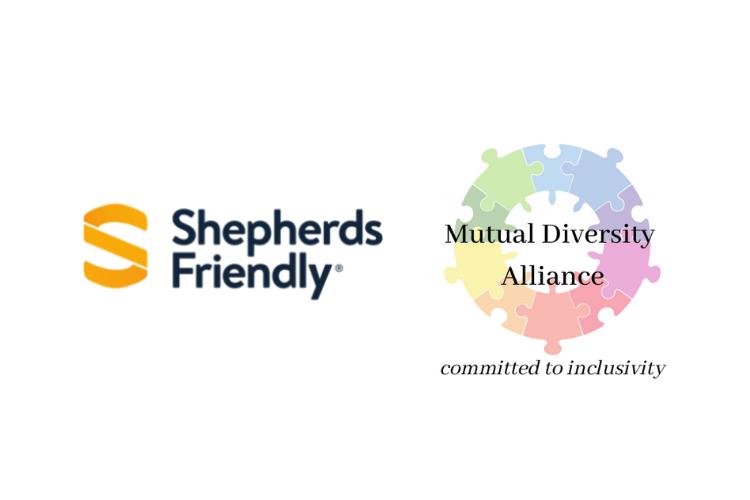 Shepherds Friendly and Mutual Diversity Alliance Logos